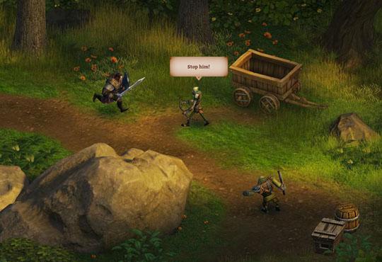 KingsRoad screen 2