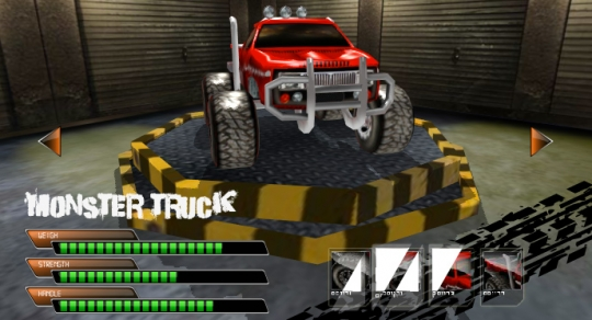 Monster Truck Tower Showcase