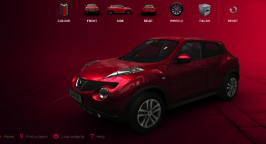 Nissan Juke Customiser