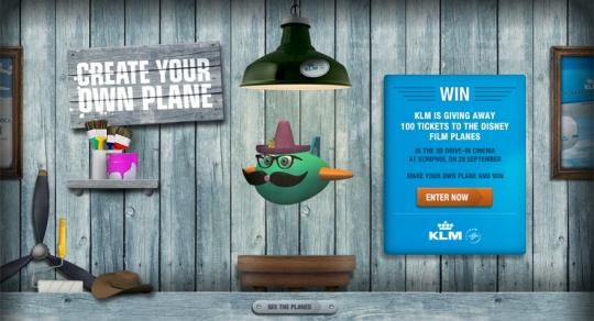 KLM & Planes > Showcase > Away3D