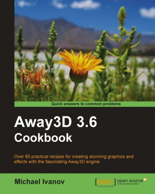 New Book: Away3D 3.6 Cookbook