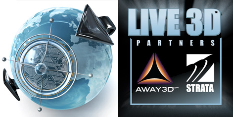Away3d enters into partnership with Strata